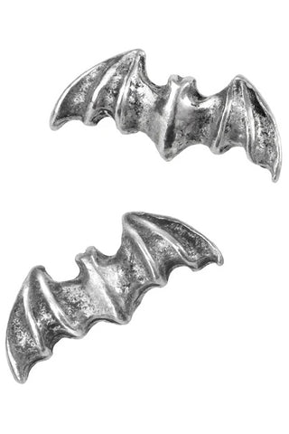 Alchemy Pair of Bat Studs Stud Earrings E186 | Angel Clothing