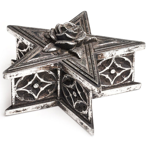 Alchemy Gothic Pentagram Box V59 | Angel Clothing