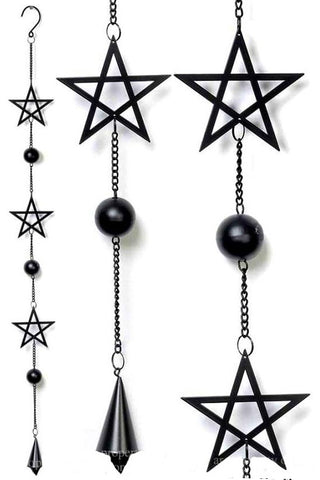 Alchemy Pentagram Wind Chime | Angel Clothing