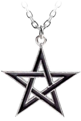 Alchemy Black Star Pentagram Pendant | Angel Clothing