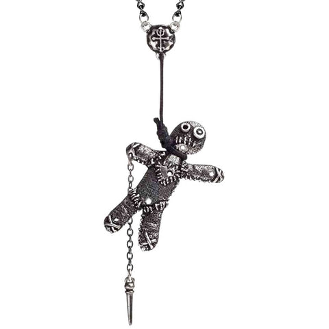 Alchemy Gothic Pewter Pendant Voodoo Doll P769 | Angel Clothing