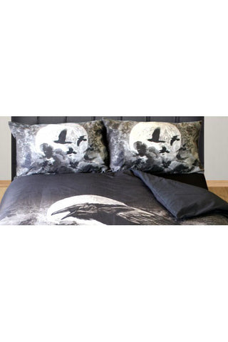 Alchemy Poe's Raven Pillowcases | Angel Clothing