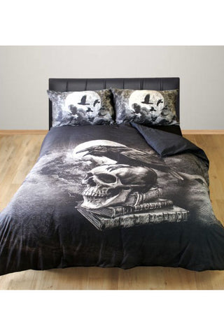 Alchemy Poe's Raven Duvet | Angel Clothing