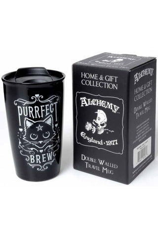 Alchemy Purrfect Brew Double Walled Mug | Angel Clothing