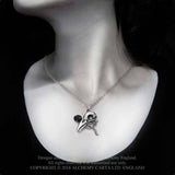 Alchemy Gothic Quietus Rose Necklace P842 | Angel Clothing