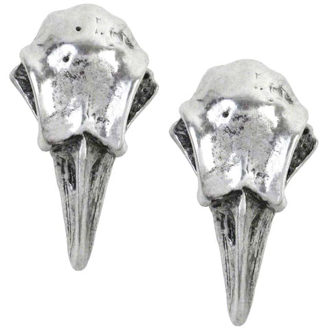 Alchemy Gothic Rabeschadel Earrings E359 | Angel Clothing