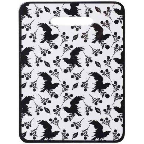 Alchemy Gothic Raven and Rose Chopping Board - Angel Clothing