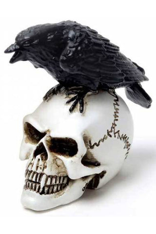 Alchemy Raven Skull Miniture | Angel Clothing