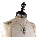 Alchemy Gothic Reapers Arms Pewter Pendant Necklace P296 | Angel Clothing