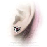 Alchemy Gothic Sacred Cat Studs E406 | Angel Clothing