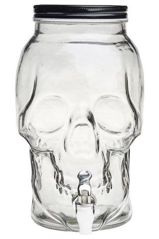 Alchemy Gothic Skull Drinks Dispenser | Angel Clothing