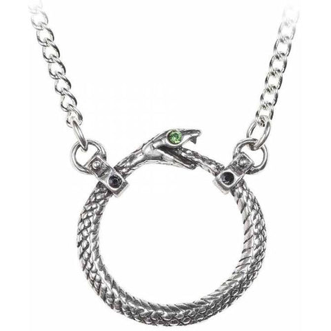 Alchemy Gothic Sophia Serpent Necklace P853 | Angel Clothing