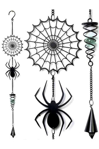 Alchemy Spider Wind Chime | Angel Clothing
