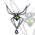 Alchemy Spider Emerald Venom Pendant | Angel Clothing
