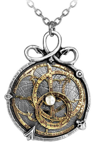 Alchemy Gothic Anguistralobe Pendant P188 | Angel Clothing