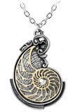 Alchemy Fibonaccis Golden Spiral Pendant | Angel Clothing