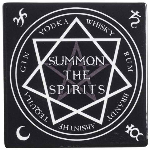 Alchemy Gothic Summon the Spirits Coaster - Angel Clothing