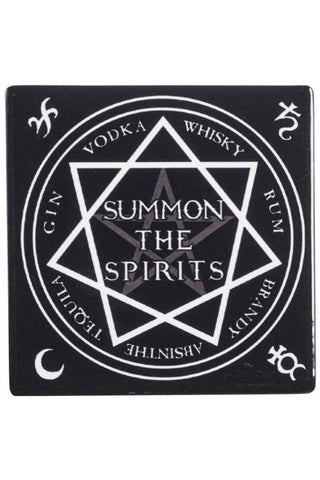 Alchemy Gothic Summon the Spirits Coaster | Angel Clothing