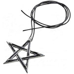 Alchemy Gothic Tethered Hex Pendant P831 | Angel Clothing