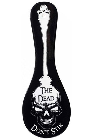 Alchemy Gothic The Dead Dont Stir Spoon Rest | Angel Clothing