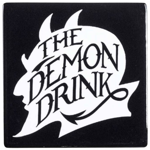 Alchemy Gothic The Demon Drink Coaster | Angel Clothing