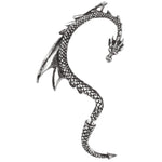 Alchemy Gothic The Dragons Lure Stud Earring E274 | Angel Clothing