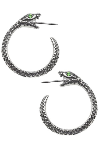 Alchemy Gothic The Sophia Serpent Ear-Wraps | Angel Clothing
