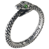 Alchemy Gothic The Sophia Serpent Pewter Ring | Angel Clothing