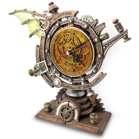 Alchemy Gothic The Stormgrave Chronometer Steampunk Clock V15 | Angel Clothing