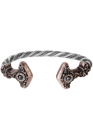 Alchemy Gothic Thunder Torque Bracelet | Angel Clothing