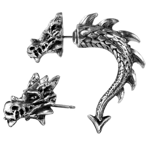 Alchemy Gothic Tor Dragon Earring E324 | Angel Clothing