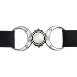 Alchemy Gothic Triple Goddess Choker | Angel Clothing