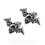 Alchemy Gothic Viennese Nights Studs, Earrings E394 | Angel Clothing