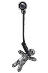 Alchemy Gothic Voodoo Doll Stud E408 | Angel Clothing