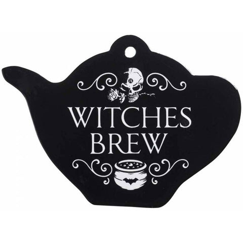 Alchemy Gothic Witches Brew Coaster 18.7cm | Angel Clothing