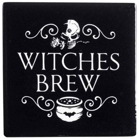 Alchemy Gothic Witches Brew Coaster - Angel Clothing