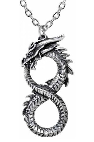 Alchemy Infinity Dragon Pendant | Angel Clothing