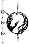 Alchemy Night Unicorn Wind Chime | Angel Clothing