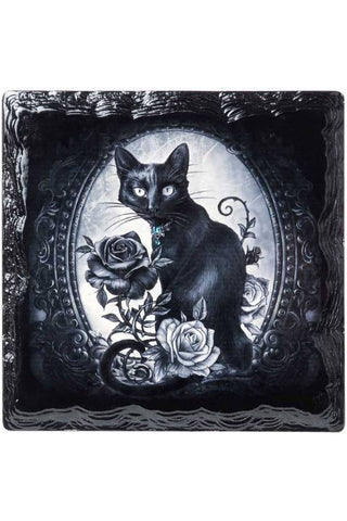Alchemy Paracelsus Cat Roses Coaster | Angel Clothing