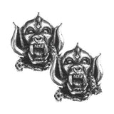 Alchemy Rocks Motorhead Warpig Stud Earrings | Angel Clothing