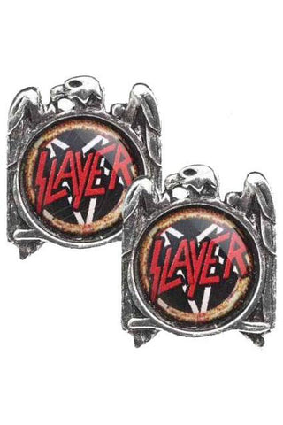 Alchemy Rocks Slayer Eagle Stud Earrings | Angel Clothing