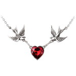 Alchemy Swallow Heart Pendant UL17 ULFP1 | Angel Clothing