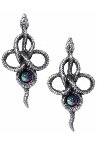 Alchemy Tercia Serpent Earrings | Angel Clothing