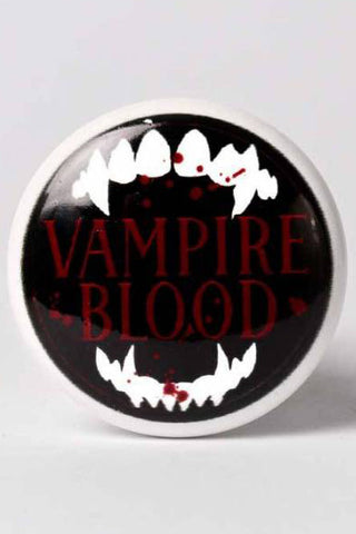 Alchemy Vampire Blood Bottle Stopper | Angel Clothing