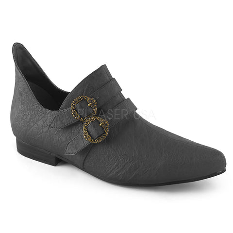 Funtasma Mens Black Renaissance Pirate Style Shoes ALDIX-20 | Angel Clothing