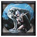 Anne Stokes Protector Clock | Angel Clothing