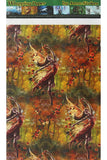 Anne Stokes Autumn Fairy Wrapping Paper, Gothic Gift Wrap 42cm x 59cm | Angel Clothing