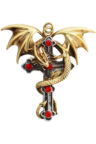 Anne Stokes Crux Dragana Pendant | Angel Clothing