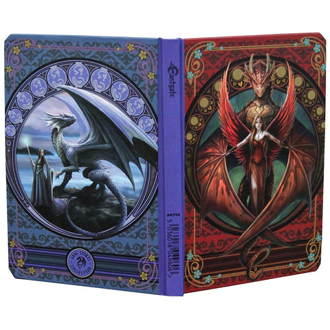 Anne Stokes Copper Wing Dragon Notebook Journal, A5 Gothic Notebook | Angel Clothing