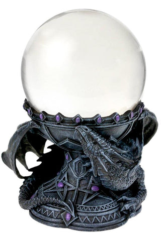Anne Stokes Dragon Beauty Crystal Ball Holder | Angel Clothing